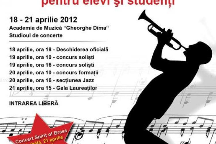 Festivalul National de Interpretare Instrumentala - Trompeta are loc maine la Cluj-Napoca
