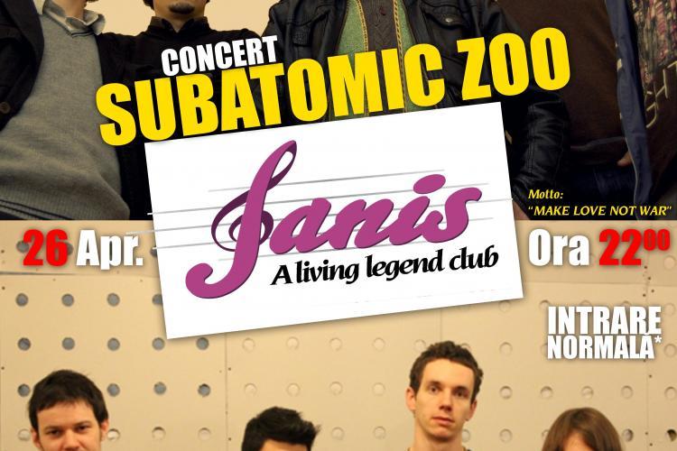 Doua concerte in aceasta seara in Janis Club. Poti castiga invitatii la festivalul de la Suncuius. Vezi ce alte surprize v-au mai pregatit(P)