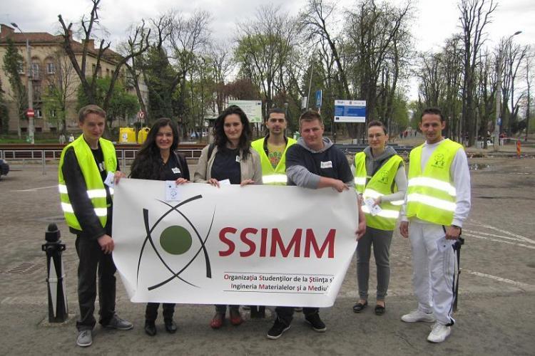 Campanie de mediu in Cluj-Napoca sustinuta de Rosal