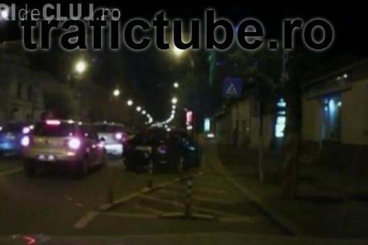 "Cocalar ""filat"" in trafic! Vezi cum se comporta si trage singur o concluzie VIDEO"