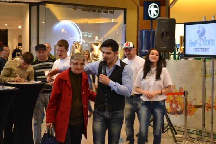 Liviu Varciu a fost asaltat de pensionare la Cluj-Napoca FOTO VIDEO