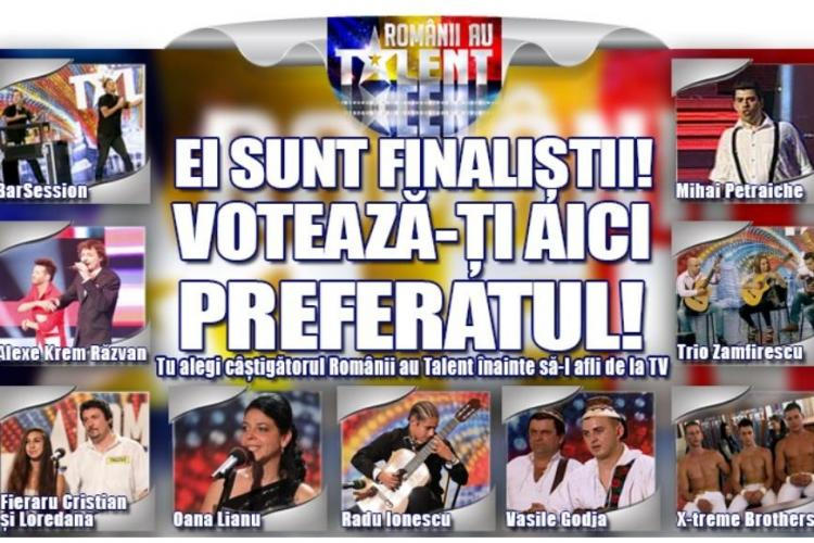 FINALISTII Romanii au talent 2012