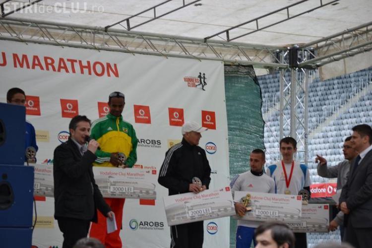Un etiopian a castigat Maratonul International Cluj! Ashenafi Erkolo a castigat 3.000 de lei FOTO