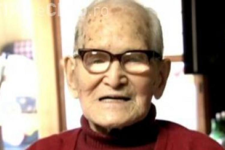 Cel mai batran om din lume a implinit 115 ani! VIDEO