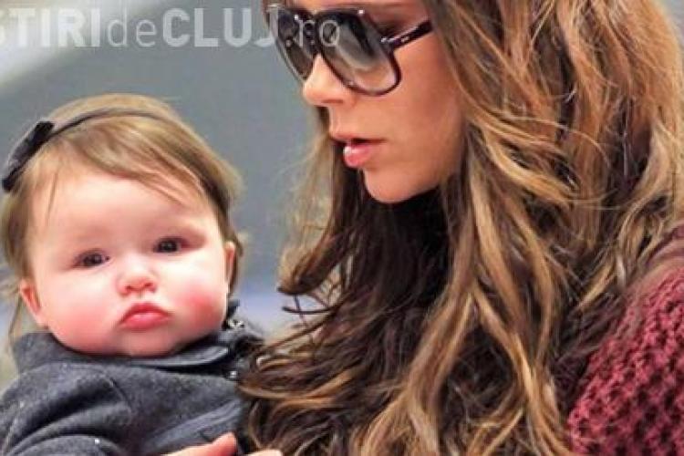 La 9 luni fiica cuplului Beckham ar putea avea proprii bani