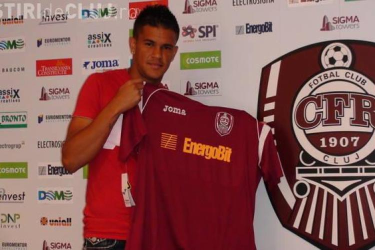 Suporterii CFR l-au contestat pe Bastos: Merge in cluburi si joaca la pariuri! Vezi ce le-a raspuns brazilianul