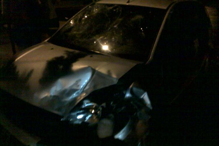 Accident pe Donath! O femeie a fost lovita pe trecerea de pietoni VIDEO si FOTO