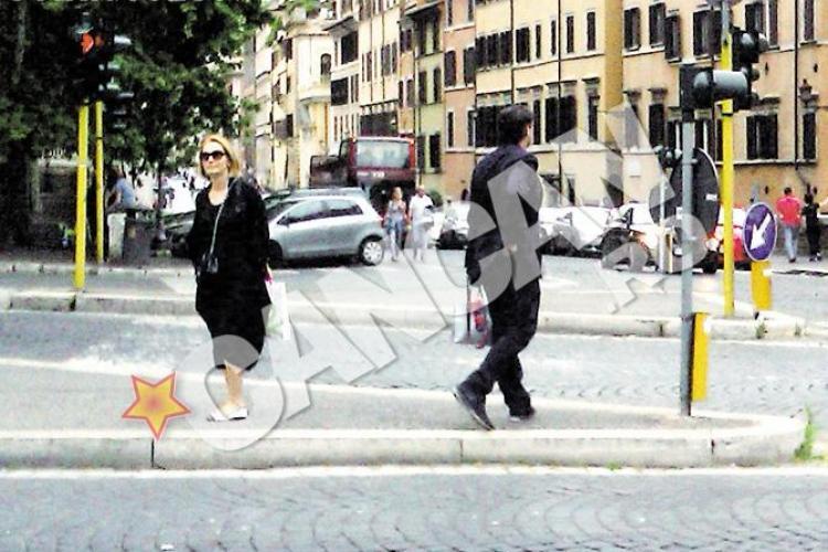 S-au certat Andreea Esca si Eram? Nervi in vacanta de la Roma
