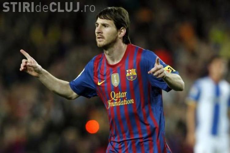 """Messi a batut recordul lui Dudu Georgescu! A inscris o """"caruta"""" de goluri cu Espaniol VIDEO"""