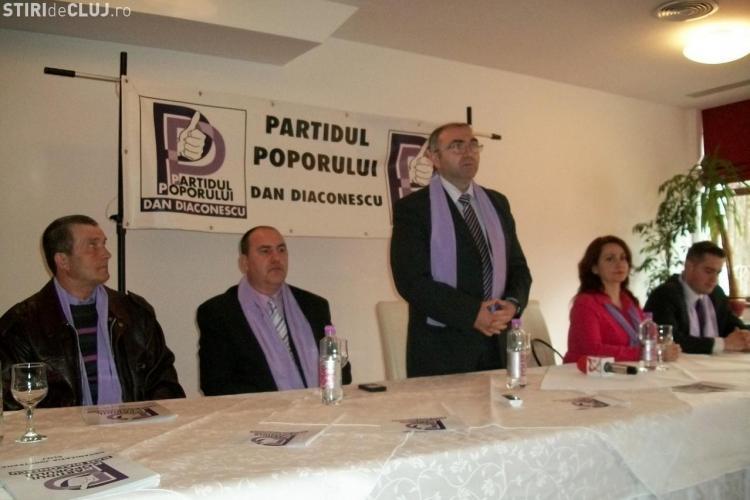 Scandal la Partidul Poporului Cluj. Nasul si cu finul conduc partidul spre PDL