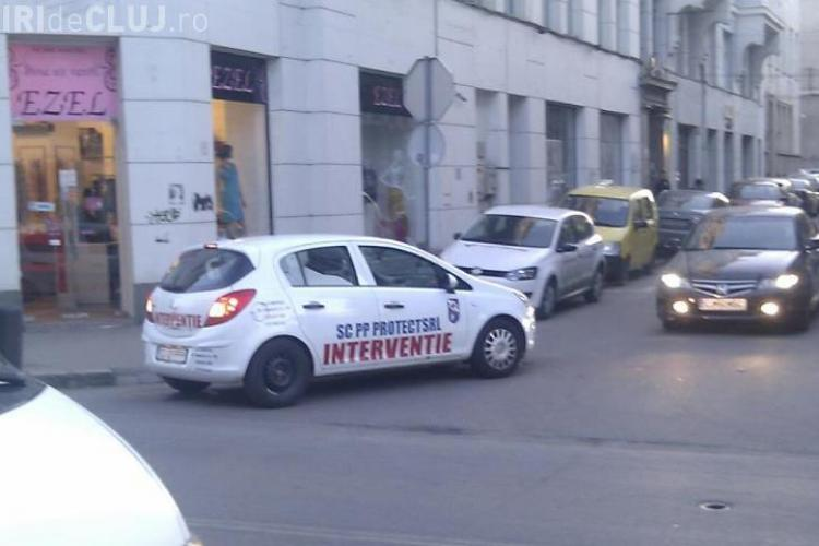 """Agentii de la o firma de paza au facut """"drift"""" pe Regele Ferdinand! FOTO"""