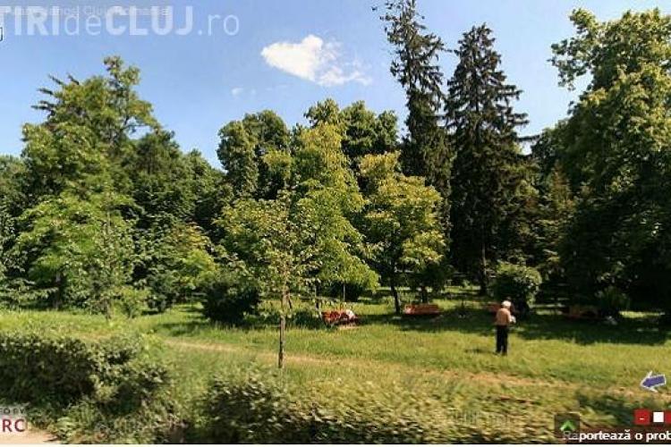 In urma cu 4 ani Clujul era plin de verdeata. Acum totul e asfaltat! Tie cum iti place? FOTO