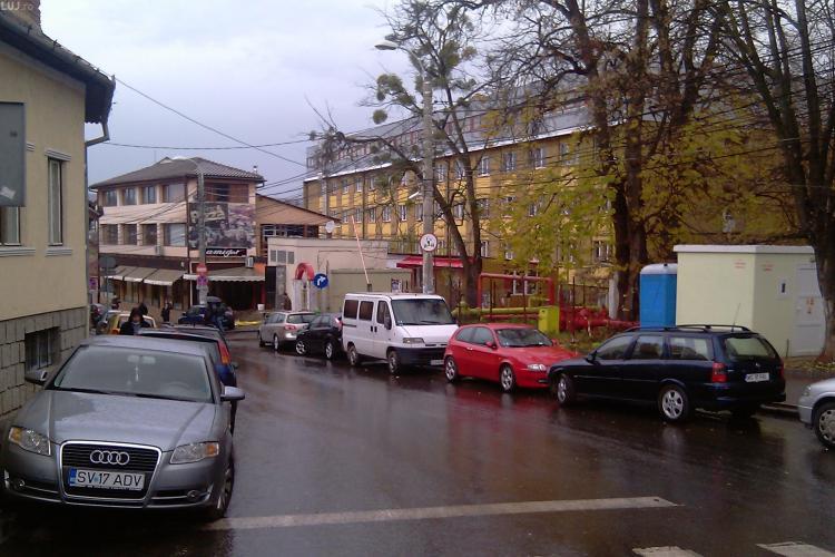 Parking in Hasdeu cu 300 de locuri pentru studentii UBB Cluj! Cladirea va fi langa cantina din Hasdeu