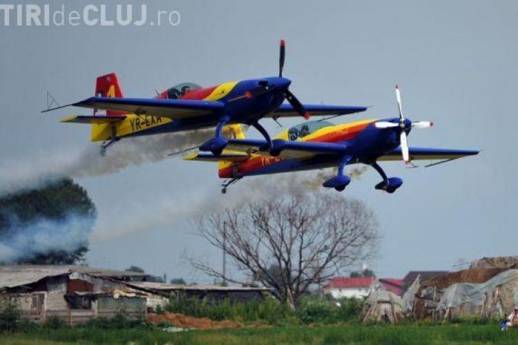 Miting aviatic pe Aeroportul Cluj! Soimii Romaniei vor face acrobatii. Parcarea este gratuita