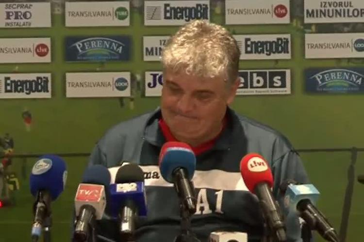 Andone: Sper sa batem U Cluj cu 1-0. As fi super multumit