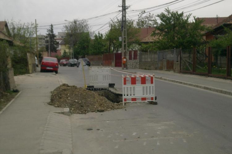 INEVITABILUL s-a produs! E-ON Gaz a spart o strada de trei ori in acelasi loc
