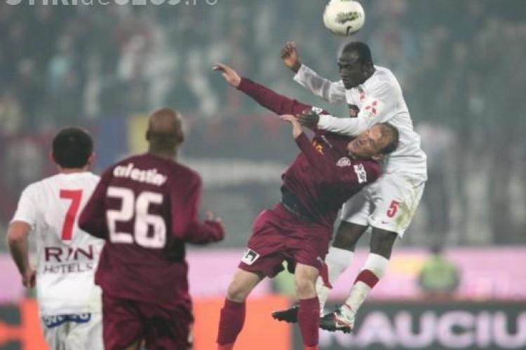 Dinamo - CFR Cluj 0-1 REZUMAT VIDEO - Golul lui Kapetanos aduce victoria
