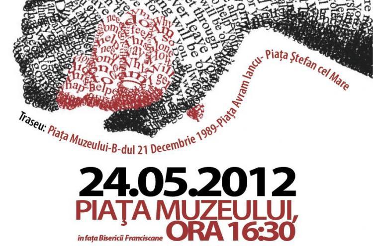 Lant uman pentru Raluca la Cluj-Napoca, in 14 mai