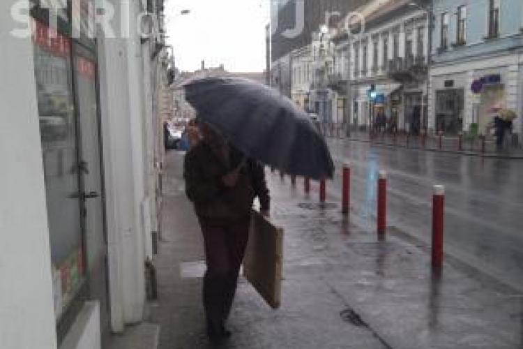 Avertizare nowcasting de furtuna! Care este situatia in judetul Cluj