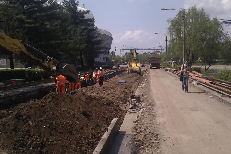 Lucrarile la linia de tramvai, terminate pana in 1 iunie! Prognoza optimista VIDEO