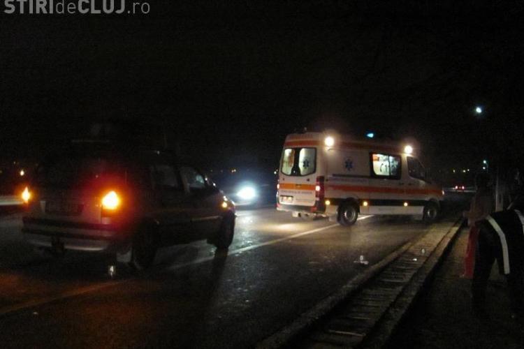 Accident la Dej! Un sofer a trecut cu masina peste un barbat