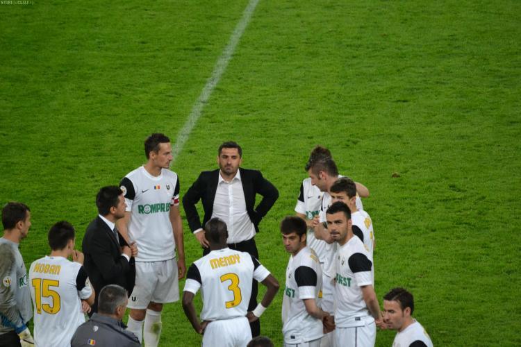 U Cluj - amenda de 20.000 de lei pentru incidentele de la meciul cu CFR Cluj. Batausii lui Cadu, interzisi un an de pe stadioane