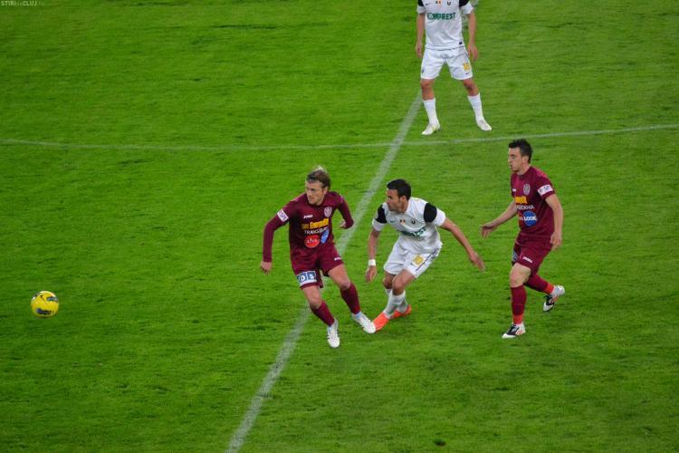 Felix Grigore: CFR Cluj nu e vinovata de intreruperea meciului. Tudor e capul rautatilor