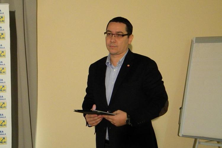 Ponta: Crestem salariile bugetarilor chiar daca situatia economica se inrautateste