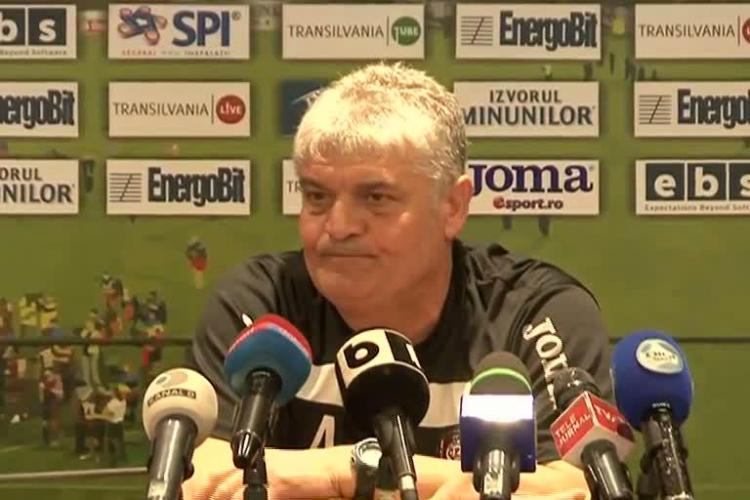 """Ioan Andone il apara pe Cadu: """"Nu a facut gesturi obscene. A fost onorabil. Cu Grozav si Morar, U Cluj nu ne dadea gol"""" VIDEO"""