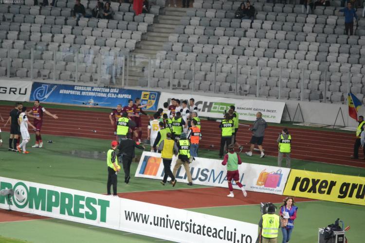 Cadu are certificat medico-legal si va face plangere penala impotriva agresorilor de pe Cluj Arena