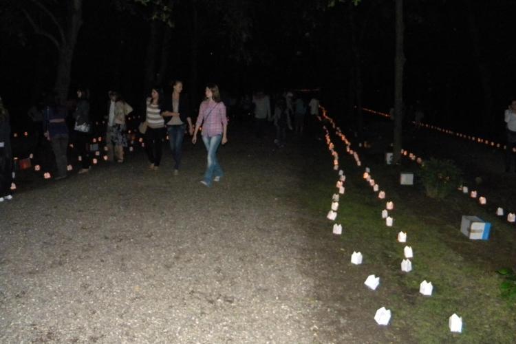 Festivalul Luminii, Cluj, 19 mai! Parcul Detunata va fi invadat de lumina. Vezi harta parcului