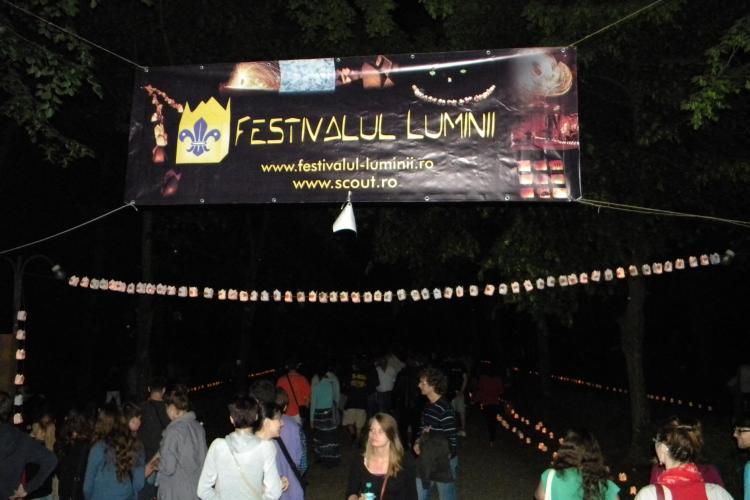 Festivalul Luminii Cluj 2012! Evenimentul va avea loc in Parcul Detunata, din Gheorgheni