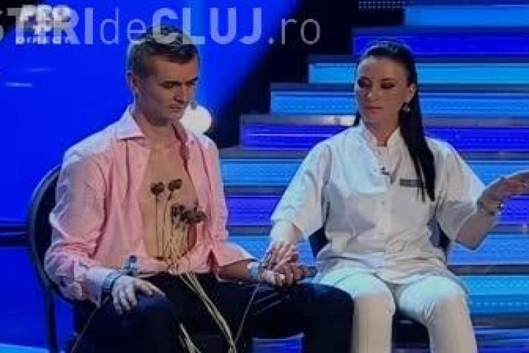 Cristian Gog ar fi vrut sa faca un numar de ruleta ruseasca, dar a fost oprit de Pro TV