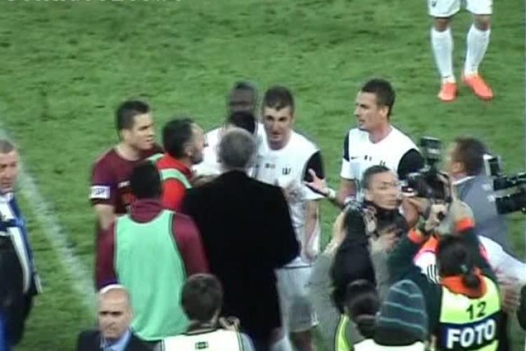U Cluj nu poate castiga meciul la masa verde ! Nu Andone, ci arbitrul Tudor a decis retragrea la vestiare VIDEO