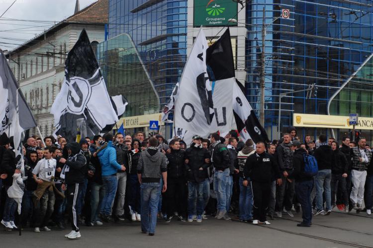 Derby -ul U Cluj - CFR Cluj paralizeaza orasului! Ce strazi trebuie evitate pentru a nu da peste suporteri