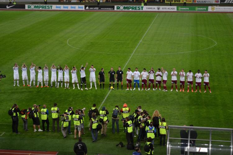 U Cluj - CFR Cluj 2-3 VIDEO gol Cadu.  CFR a castigat campionatul !