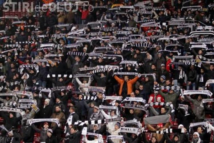 Universitatea - CFR Cluj 0-1  Arbitrul a intrerupt partida pentru violente. Meciul nu se mai reia !