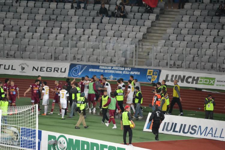 """Tudor a procedat corect la U Cluj - CFR Cluj"", a declarat Ion Craciunescu"