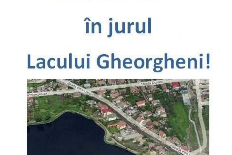 STOP traficului auto si constructiilor pe malul lacului Gheorgheni - campanie sociala