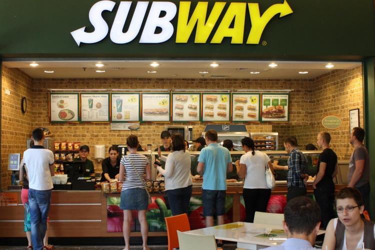 Subway a deschis primul restaurant din provincie, la Iulius Mall Cluj