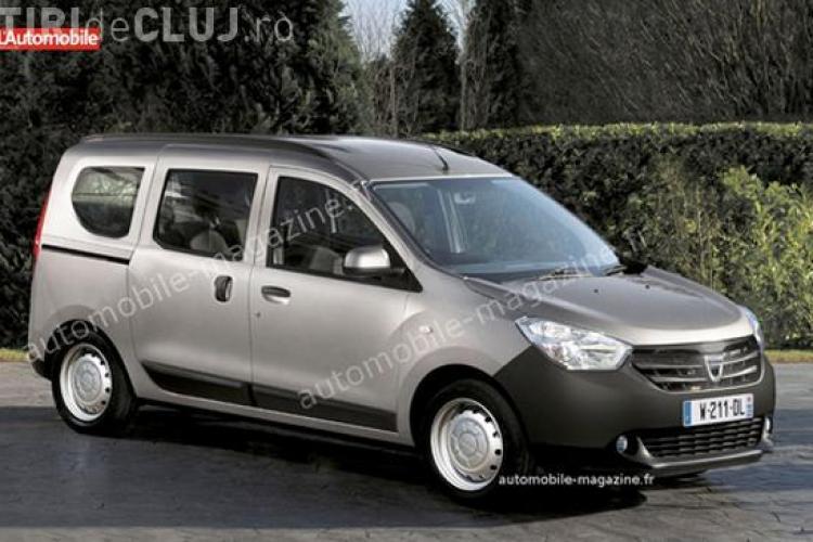 Dacia lanseaza doua modele noi in 2012: Dokker si Dokker VAN