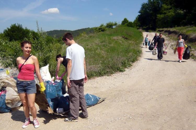 Let's do it Romania - Clujul a adunat 13.000 de saci cu gunoaie