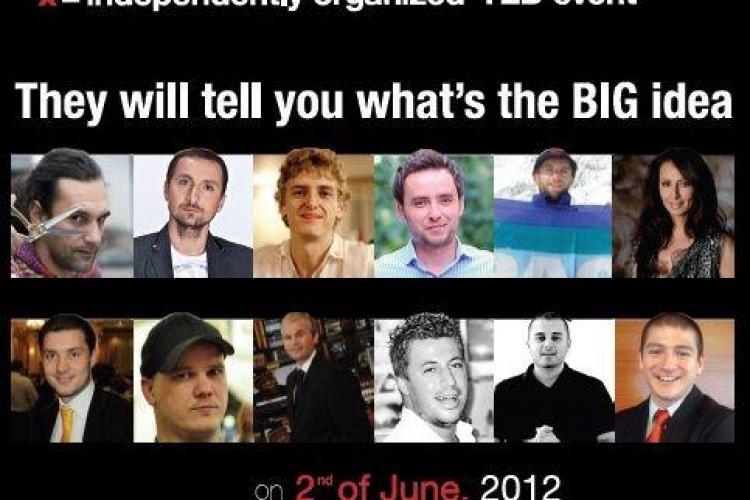 """TEDxCluj: """"What's the BIG idea"""" se desfasoara in Casinoul din Parcul Central"""