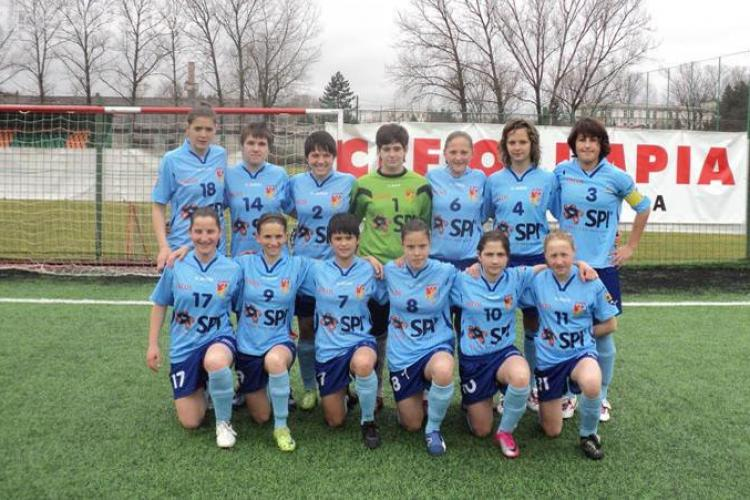 Olimpia Cluj a castigat Cupa Romaniei la fotbal feminin