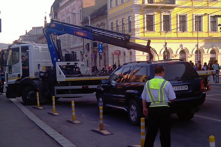 Consilierii locali au votat o noua hotarare privind ridicarea masinilor parcate ilegal in Cluj-Napoca