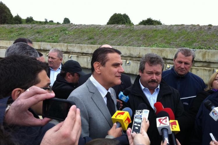 Corpul de control al ministrului Transporturilor nu a mai ajuns la Cluj! Silaghi a facut o vizita electorala?