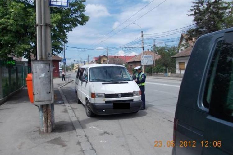 """Amenzi pentru """"rechinii"""" care transporta persoane din Cluj-Napoca in diverse puncte ale judetului"""