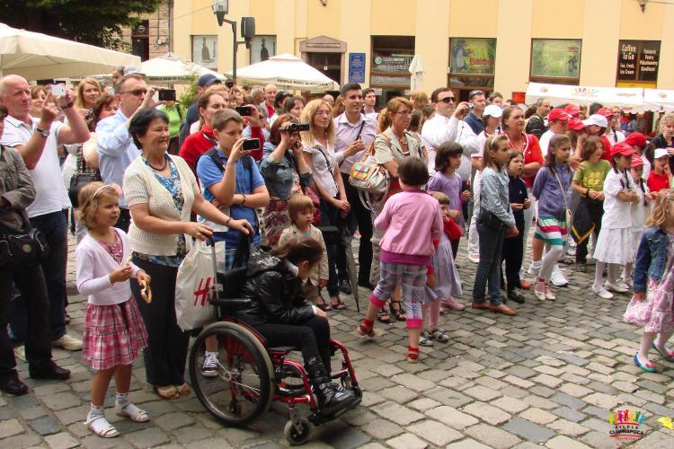 ZILELE CLUJULUI: Peste 10.000 de clujeni au participat la prima zi FOTO