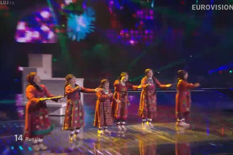 EUROVISION 2012! Bunicutele din Rusia au facut senzatie la Baku VIDEO