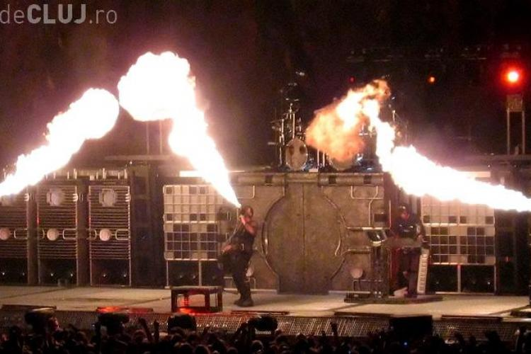 Paszkany aduce Rammstein pe Cluj Arena, in cinstea CFR